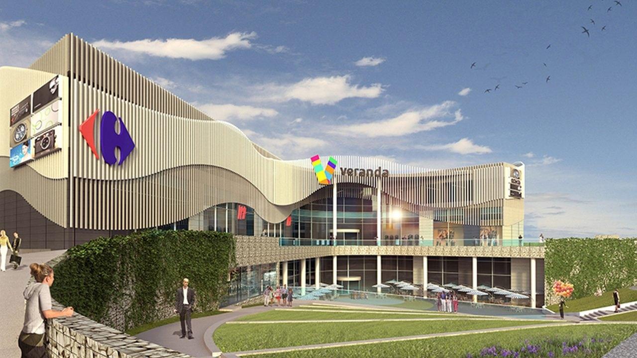 Veranda mall - High street contra mall
