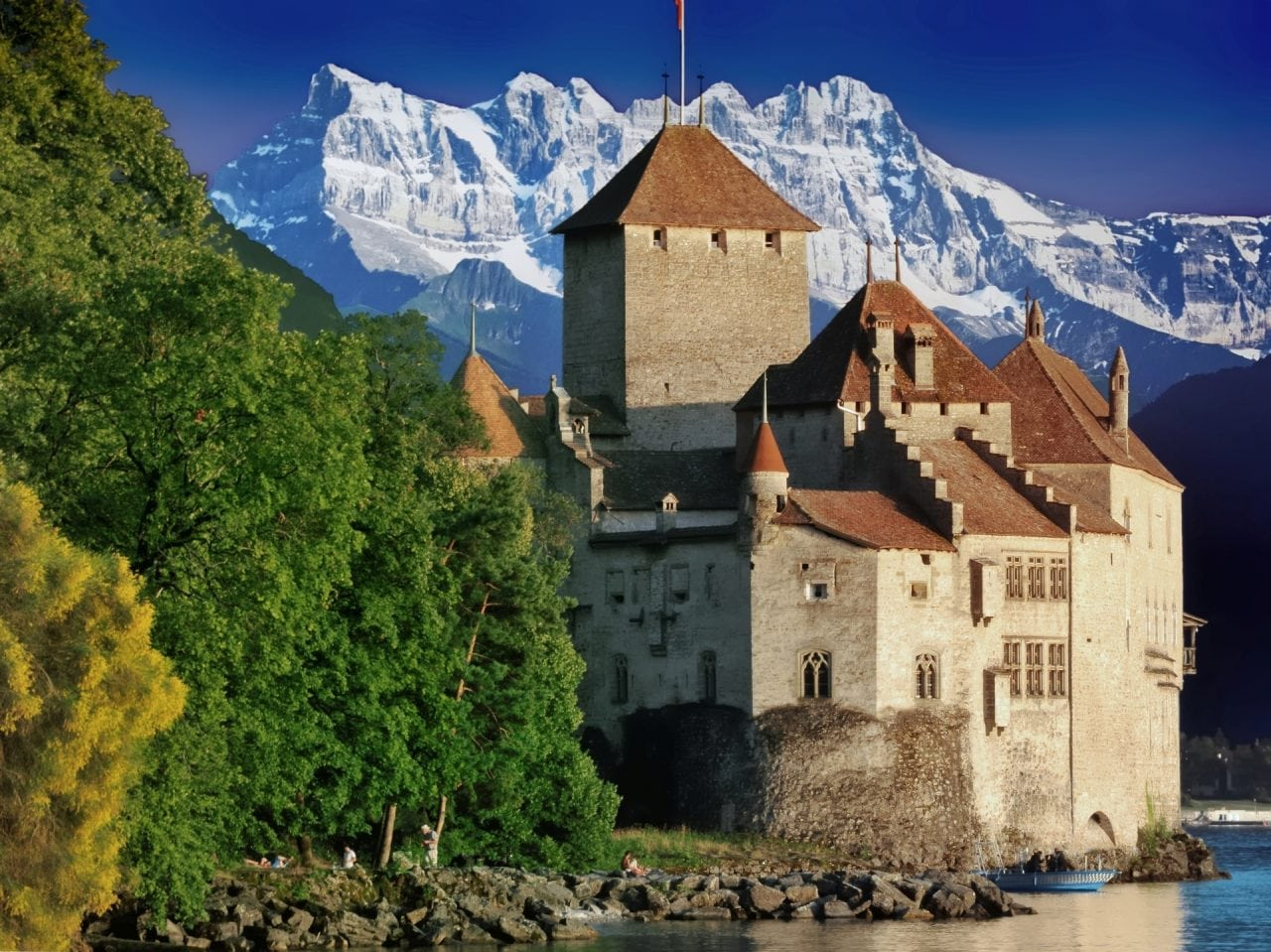 Castle of Chillon N - Case de vacanta pe Riviera