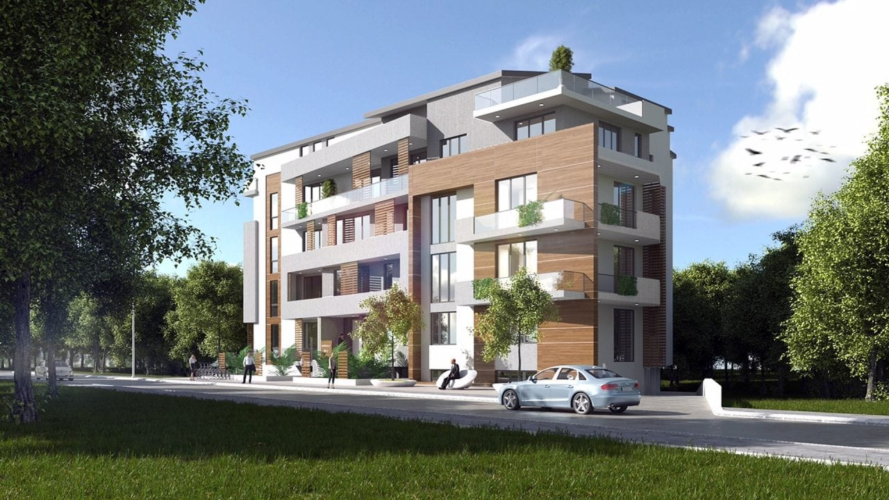 Nordis Residence Fatada - Nordis Residence demareaza proiectul