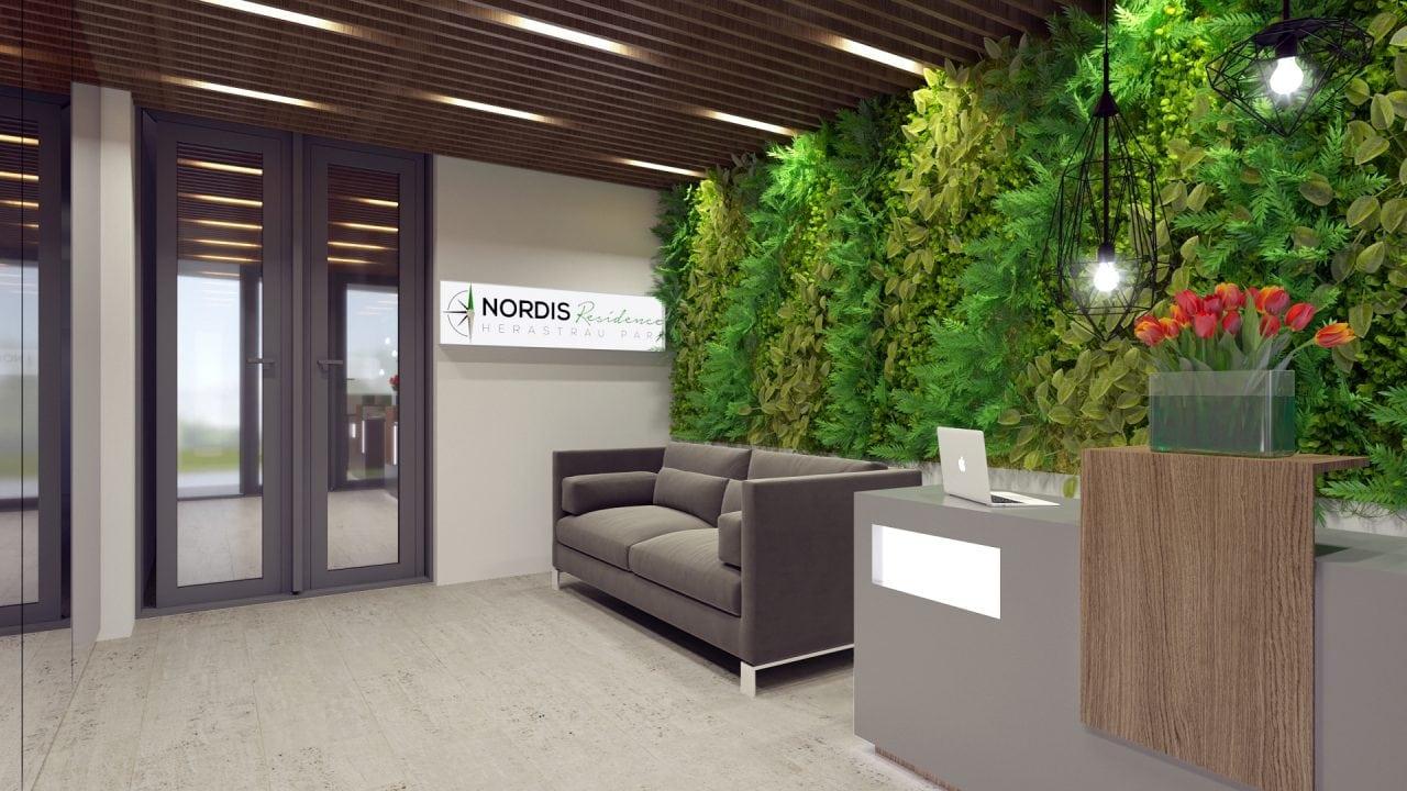 Nordis Residence Receptie - Nordis Residence demareaza proiectul