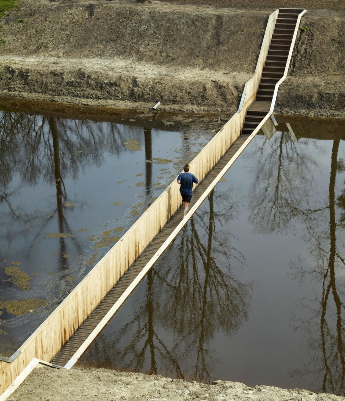 worlds best pedestrian bridges halsteren olanda - Cele mai frumoase poduri pietonale din lume