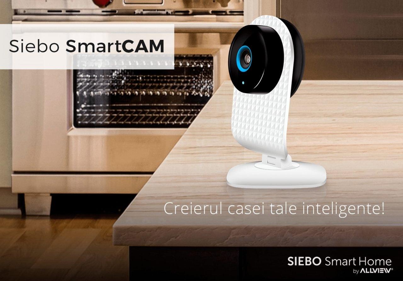 SmartCam Siebo - Brandul romanesc Allview intra pe piata de solutii smart home