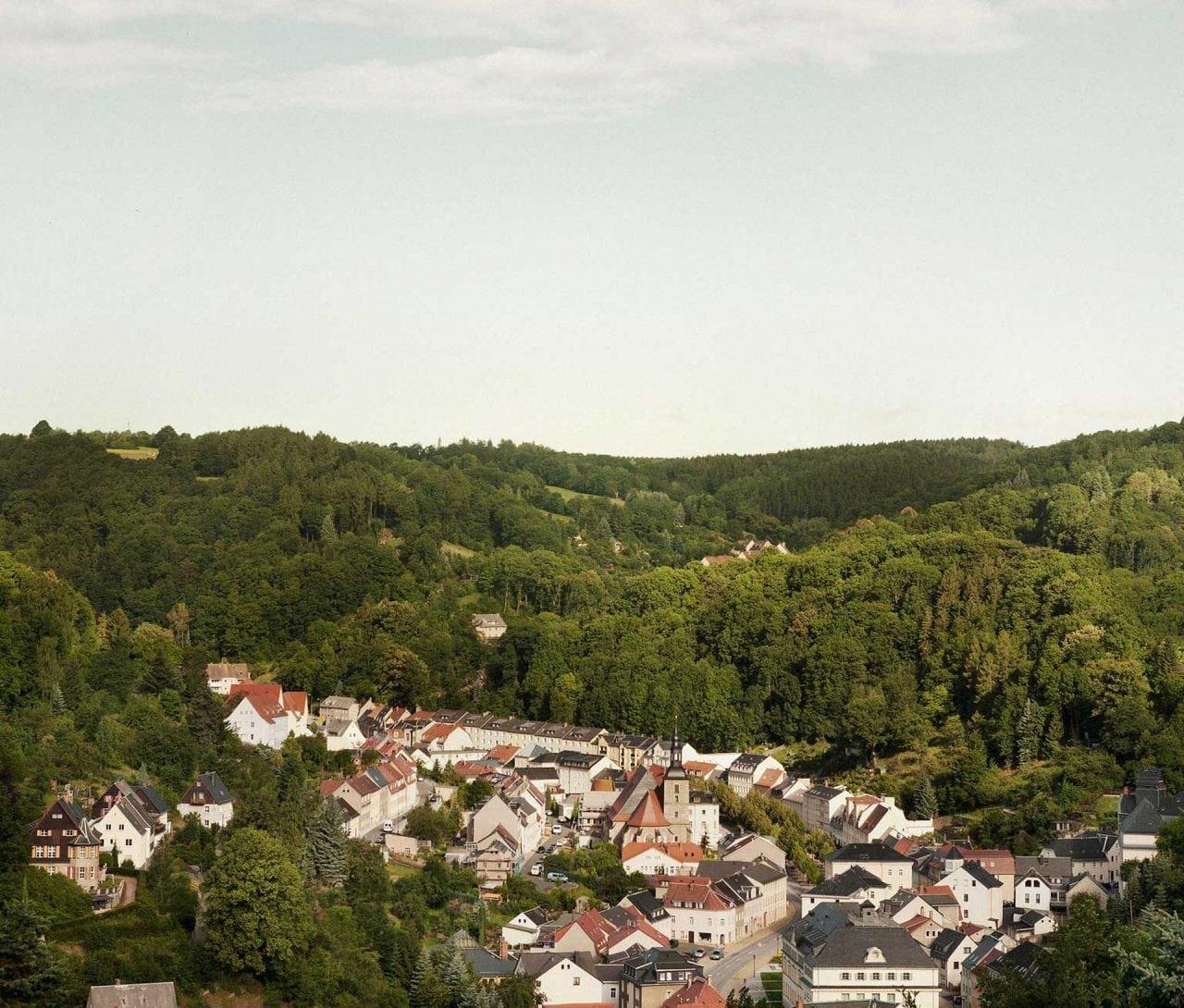 Glashuette von oben from above - Aportul industriei luxului la cladirea sau restaurarea patrimoniului arhitectural