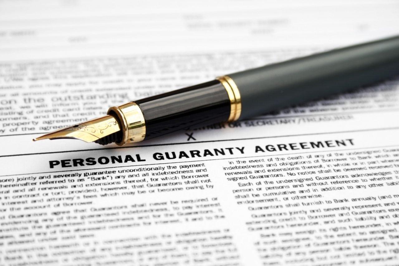 personal guarantees collateral liens - Rares Dinu - Garantiile personale