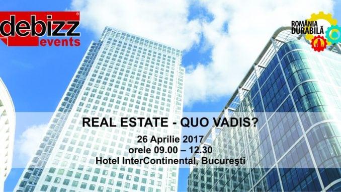 """FCB 678x381 - """"REAL-ESTATE, QUO VADIS?"""" – 2017, o nouă dezbatere DeBizz Magazine privind piața imobiliară și de construcții din România"""