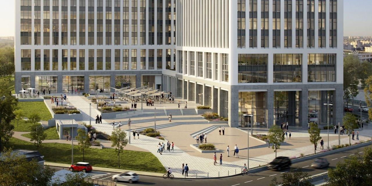 TNS plaza area - KRUK Romania, unul dintre chiriasii birourilor Timpuri Noi Square