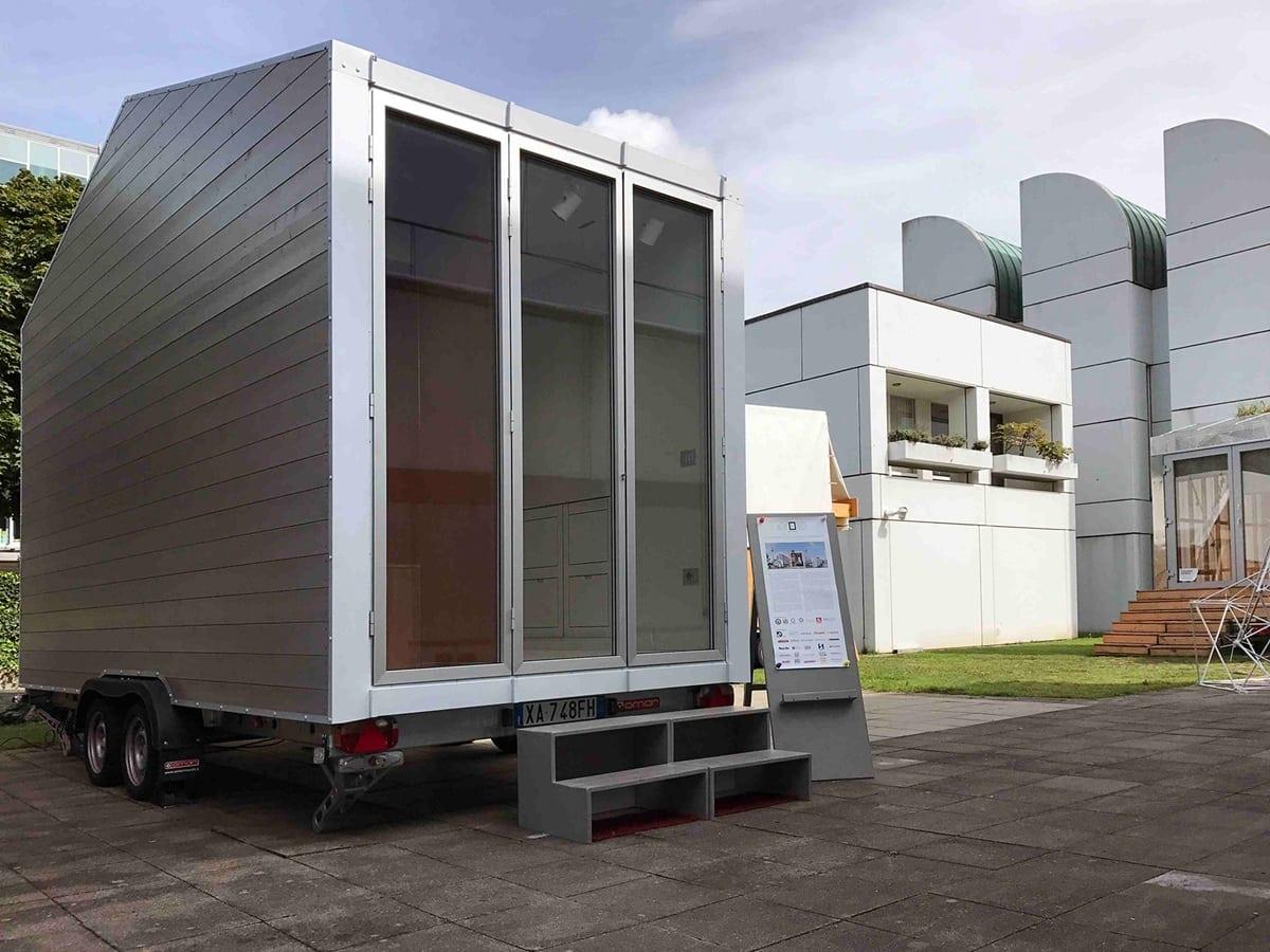 Hafele TinyHouse 1 - Häfele furnizează feronerie și soluții inteligente pentru prima casă mobilă în miniatură