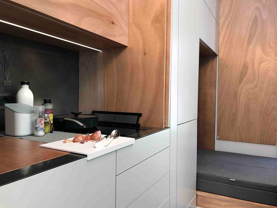 Hafele TinyHouse 4 - Häfele furnizează feronerie și soluții inteligente pentru prima casă mobilă în miniatură
