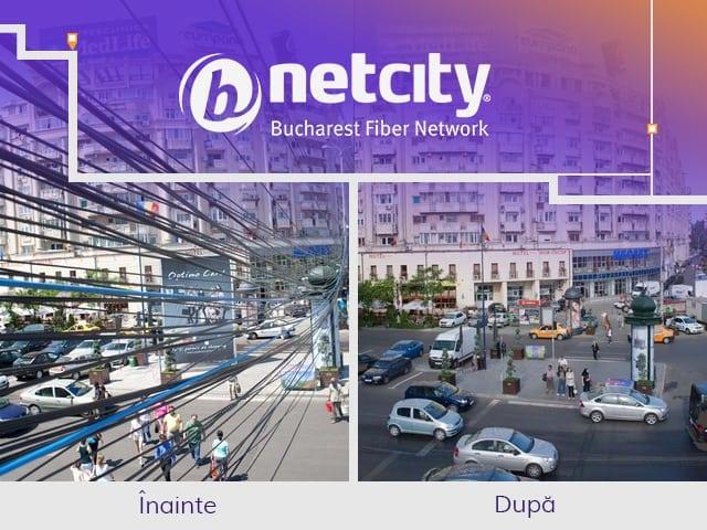 imagine1 netcity - Netcity Telecom continuă extinderea rețelei subterane pentru fibră optică a Municipiului București cu o finanțare privată de peste 30 milioane de euro