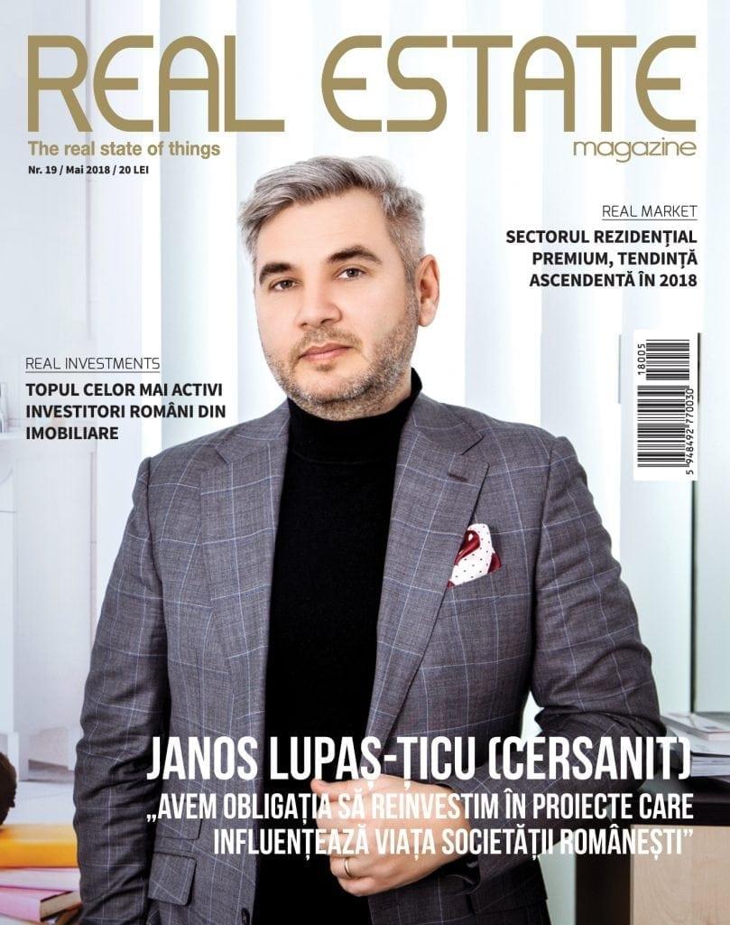 Coperti Real Estate 19 web 809x1024 - Janos Lupaș-Țicu, directorul de vânzări  pentru sudul Europei al Cersanit