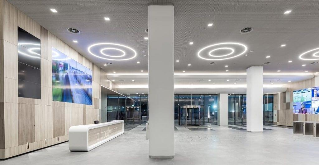 Globalworth Campus Tower 1 1024x531 - Globalworth aduce Mindspace în trei dintre clădirile sale din România