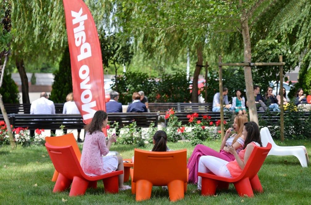 NovoPark 1 - Novo Park a investit in WiFi gratuit si mobilier de relaxare pentru angajați