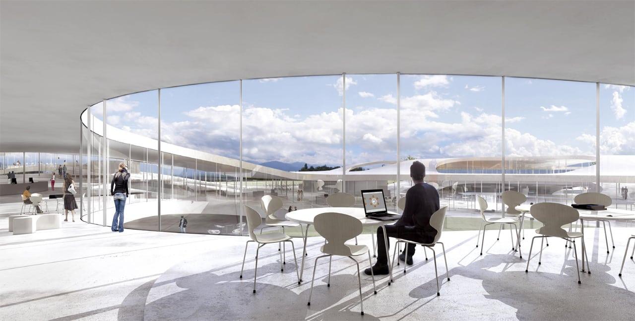 8 - Exclusiv: Rolex Learning Center, un mall cultural și de știință