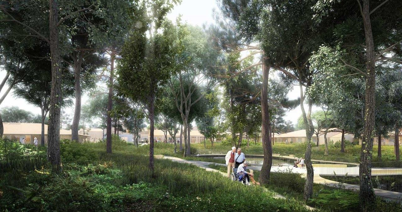 Alzheimers dax - Primul oraș dezvoltat pentru îngrijirea bolnavilor de Alzhaimer