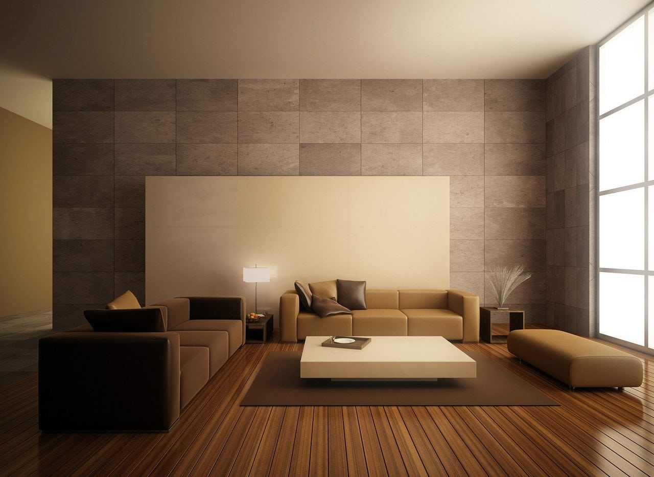 decorating a large wall with high ceiling for living room using and most inspiring images decora - MINIMALISMUL, o artă și un stil de viață