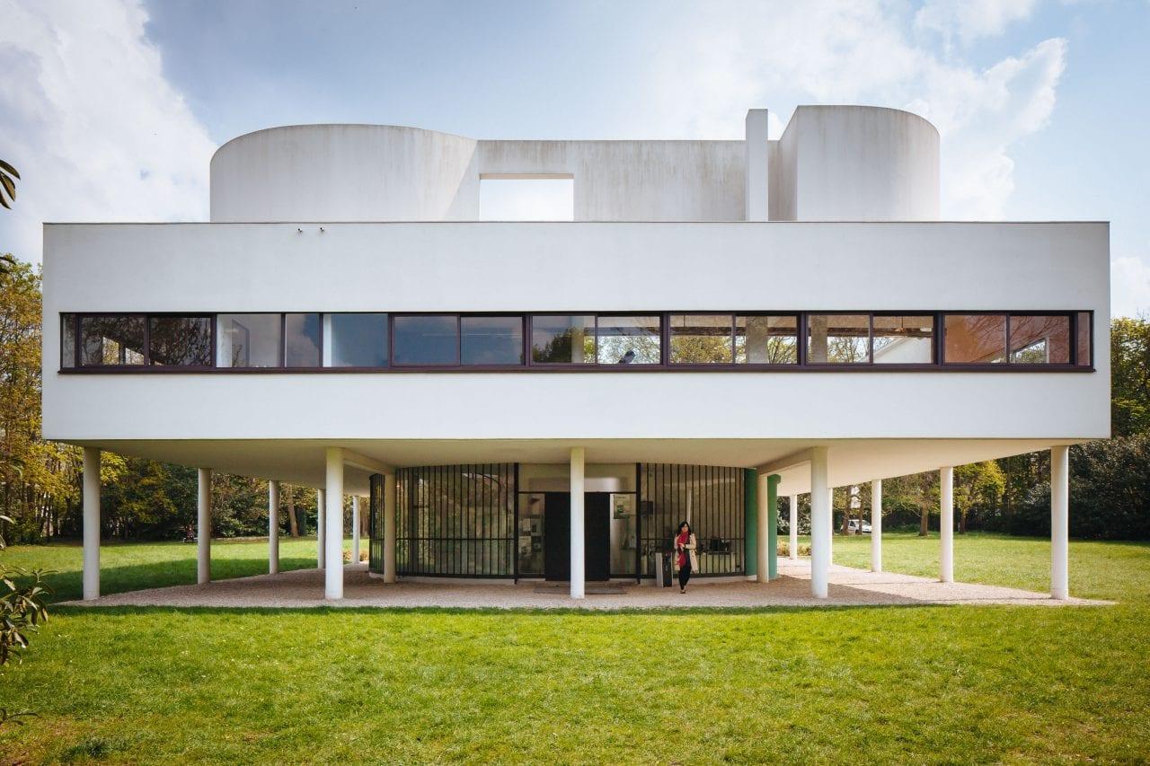 0132.LeCorbusier.VillaSavoye 9104 - Villa Savoye și cele 5 principii ale arhitecturii, enunțate de Le Corbusier