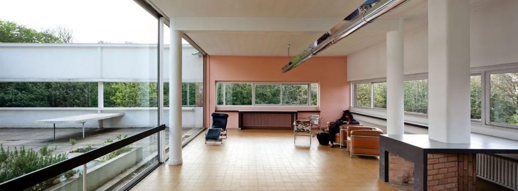 0132.LeCorbusier.VillaSavoye 9328 1024x378 - Villa Savoye și cele 5 principii ale arhitecturii, enunțate de Le Corbusier