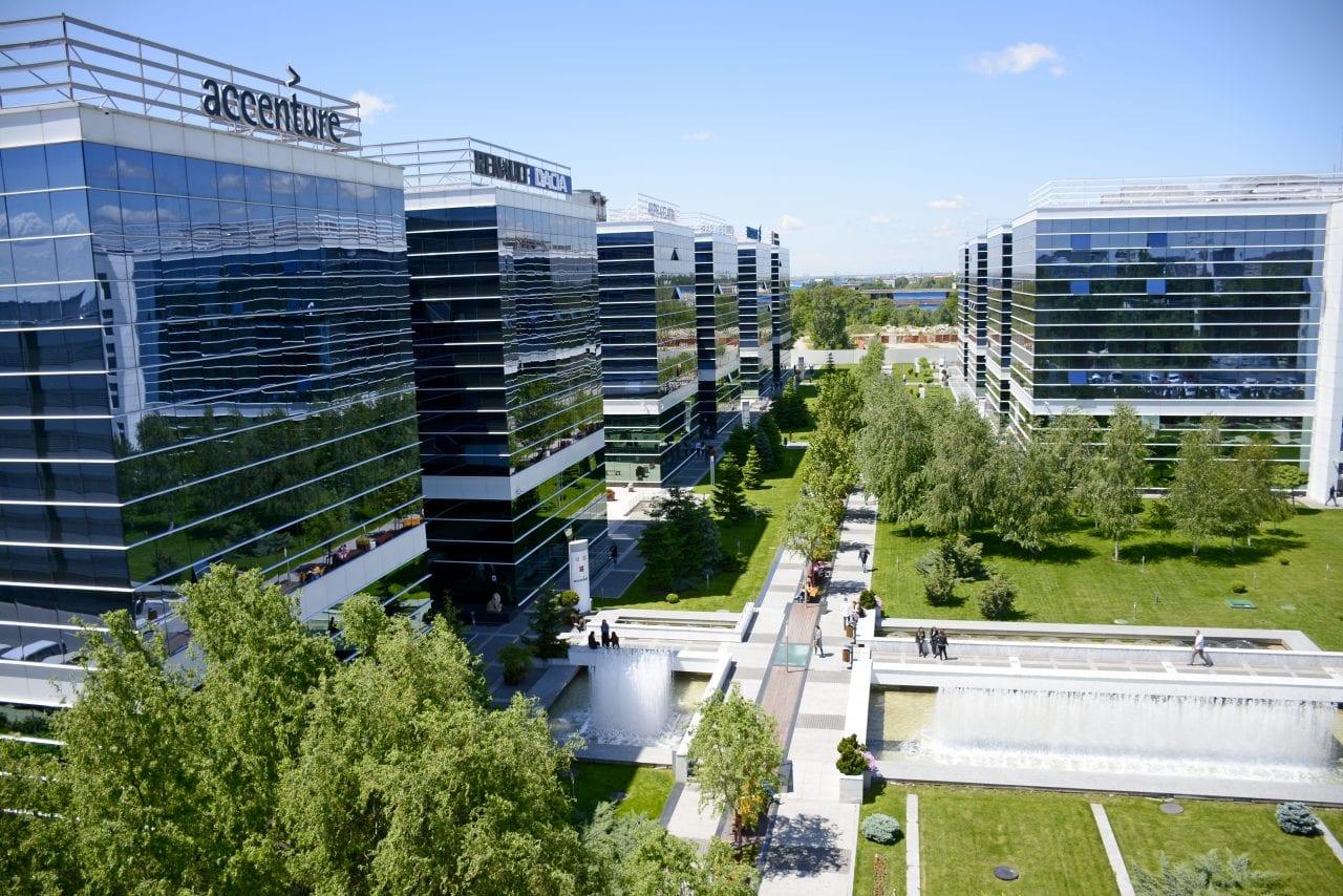 Accenture in West Gate - Accenture prelungește contractul pentru birourile din West Gate până în 2025