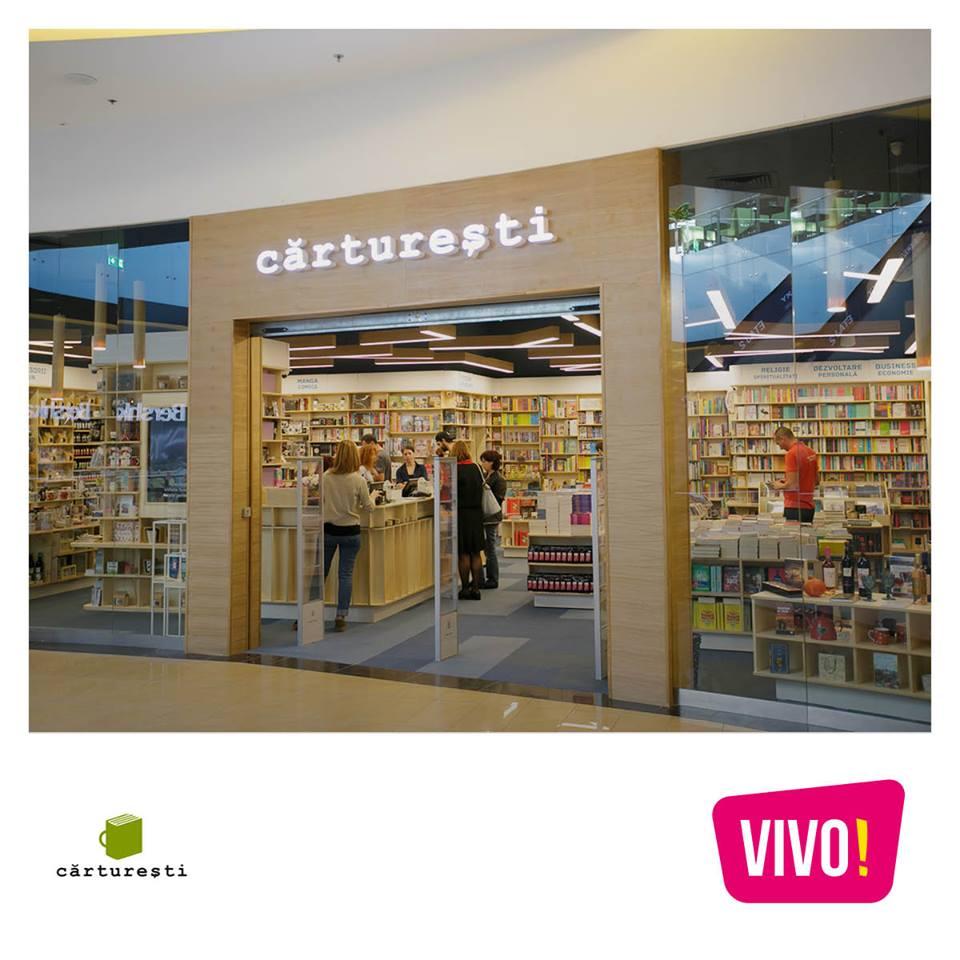 VIVO Baia Mare Carturesti 1 - VIVO! Baia Mare adaugă o librărie Cărturești