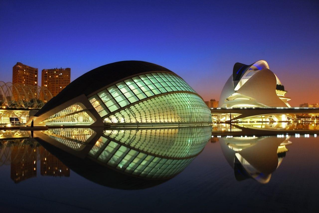 1 - Valencia: Orașul Artelor și Științelor