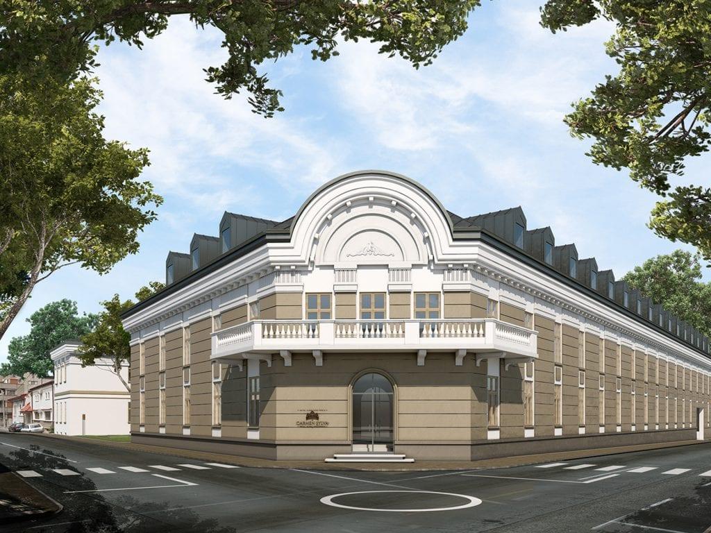 carmen sylva - Investiție de 10 milioane de euro într-un ansamblu rezidențial de lux în zona Unirii