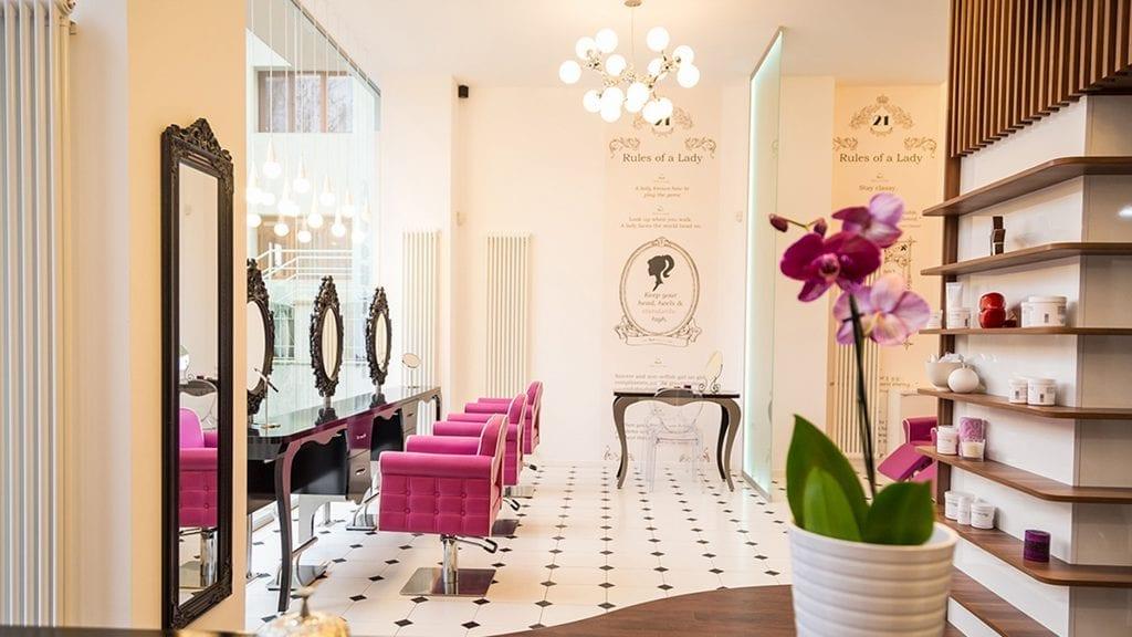 """Salon de frumusete Beauty 21st 9 1024x576 - Arh. Bogdan Bănică, Atelier507: """"Managementul eficient asigură transpunerea creativității într-un proiect de design de calitate, fezabil ca buget și durată"""""""