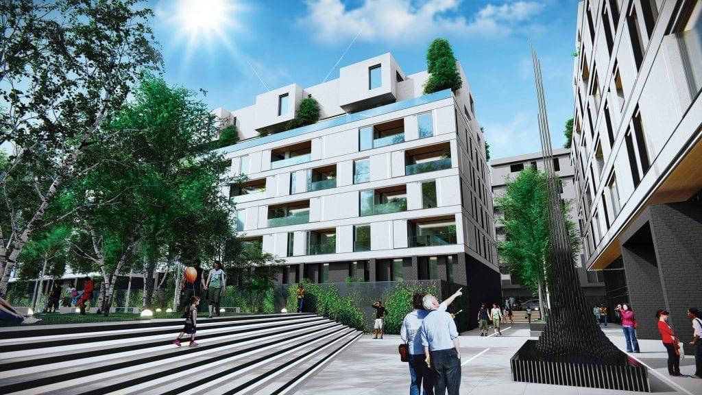 WIN Herastrau dreapta sus mare 1 1024x576 - Dezvoltatorul Cristi Pascu a demarat WIN Herăstrău, proiect rezidențial de lux evaluat la 60 de milioane de euro