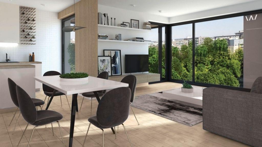 WIN Herastrau stanga jos mare 1024x576 - Dezvoltatorul Cristi Pascu a demarat WIN Herăstrău, proiect rezidențial de lux evaluat la 60 de milioane de euro