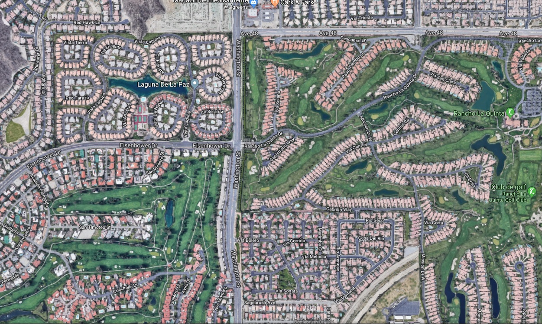 1 diverse tipuri de parcelari din Palm Spring USA - Vânzarea de parcele și vile în sate noi, o afacere prea rară în România