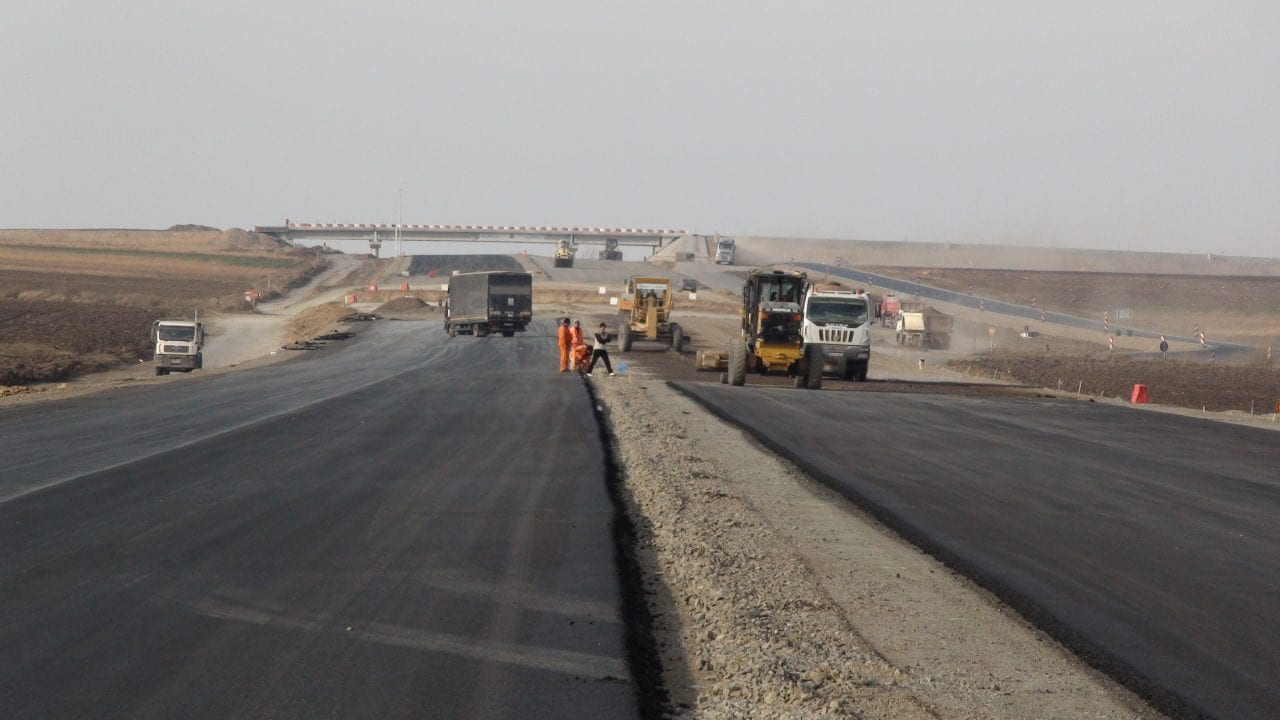 constructie autostrada1 - Decizie. Turcii construiesc lotul 2 din centura de sud a Bucureștiului