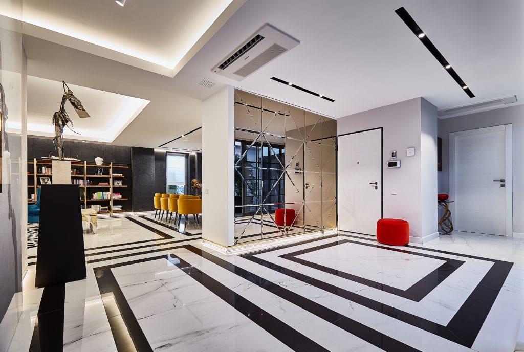 IMG 2056 1024x688 - GALERIE FOTO: Un penthouse ce oferă experiențe vizuale și tactile cu totul speciale