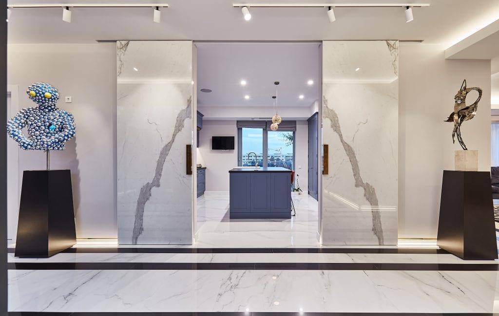 IMG 2062 1024x649 - GALERIE FOTO: Un penthouse ce oferă experiențe vizuale și tactile cu totul speciale
