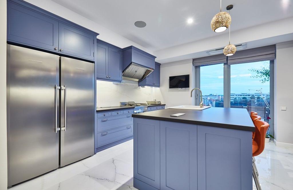 IMG 2065 1024x666 - GALERIE FOTO: Un penthouse ce oferă experiențe vizuale și tactile cu totul speciale