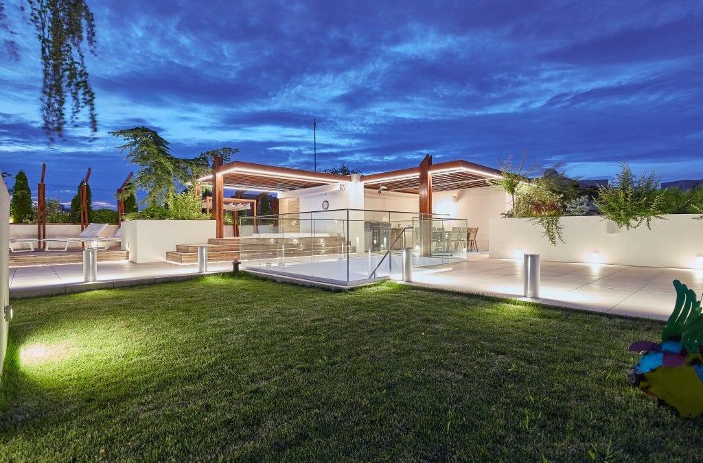 IMG 2153 1024x675 - GALERIE FOTO: Un penthouse ce oferă experiențe vizuale și tactile cu totul speciale