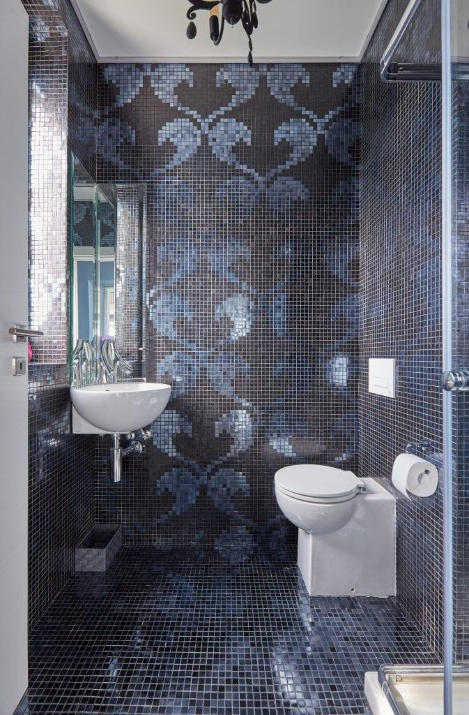 IMG 2309 673x1024 - GALERIE FOTO: Un penthouse ce oferă experiențe vizuale și tactile cu totul speciale