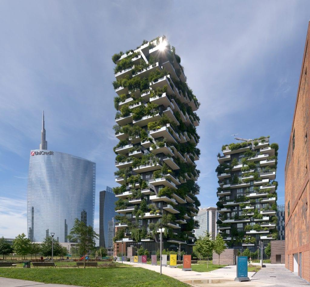 Bosco Verticale Milano 1024x950 - Pădurea Verticală (Bosco Verticale) din Milano – inovație în sectorul rezidențial