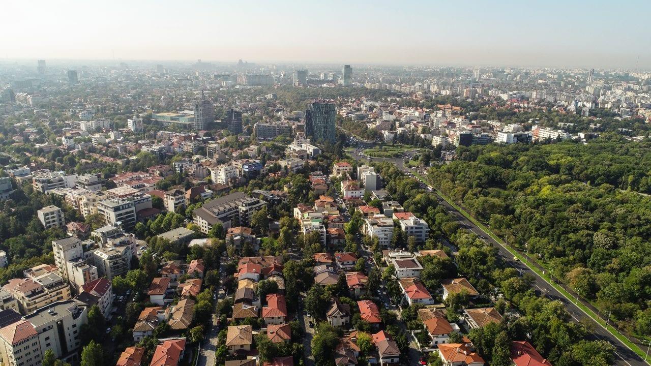 DJI 0162 - Ce opțiuni au companiile cu birouri în București în fața traficului tot mai intens