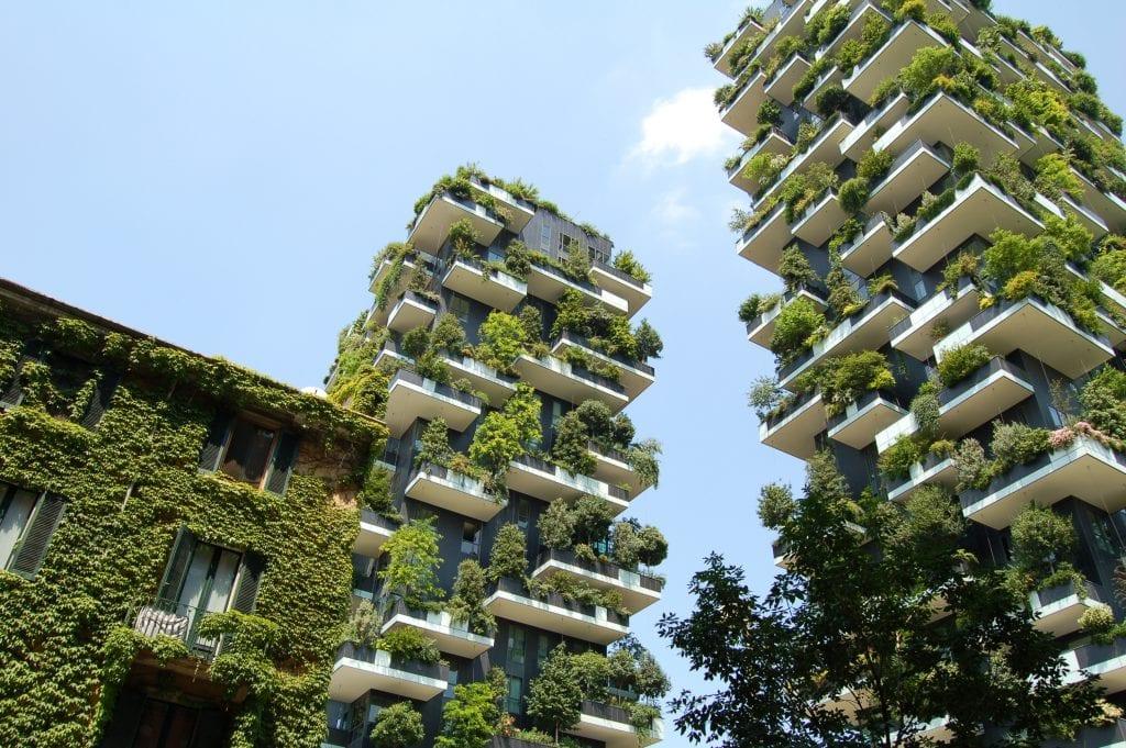bosco verticale 1 1024x681 - Pădurea Verticală (Bosco Verticale) din Milano – inovație în sectorul rezidențial