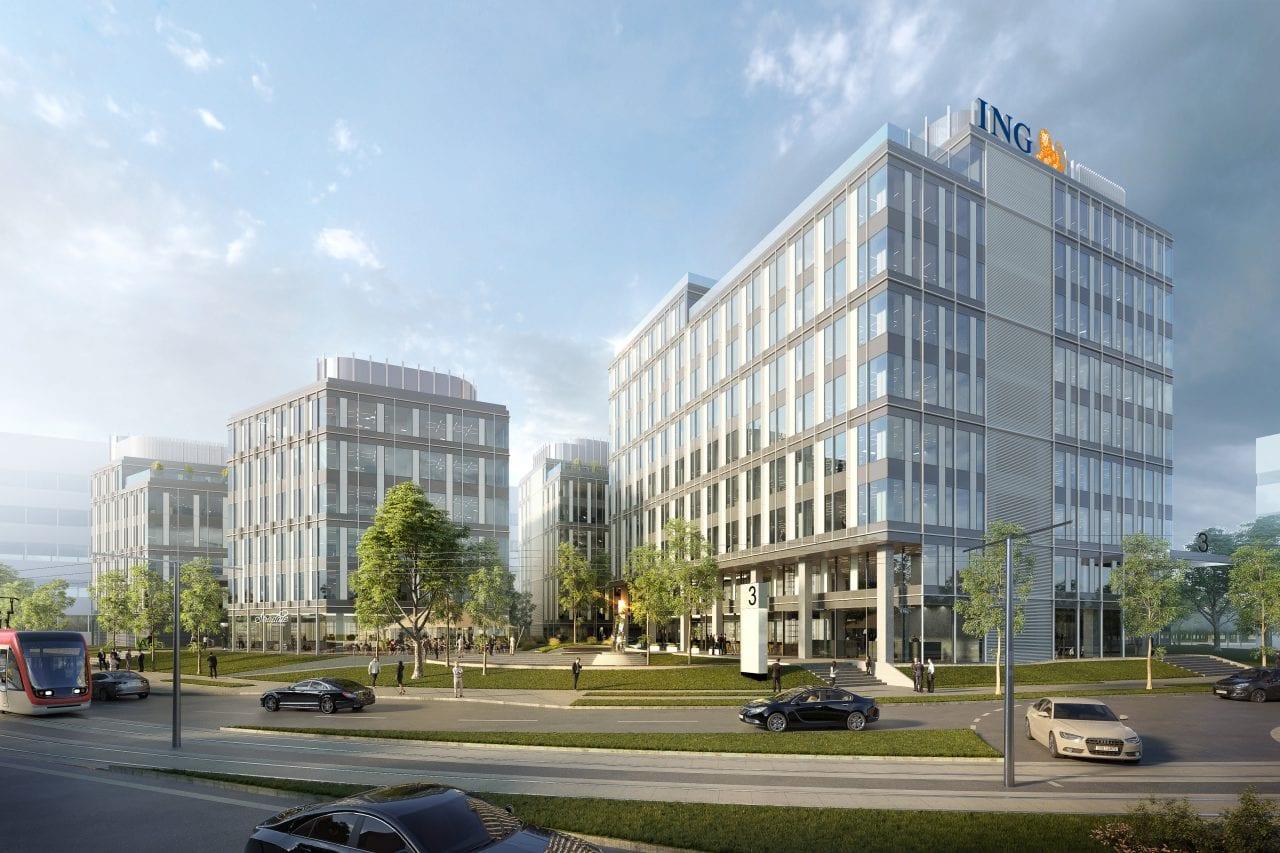 expo business park - ING Bank, relocarea birourilor în Zona Expoziției începând cu 1 septembrie