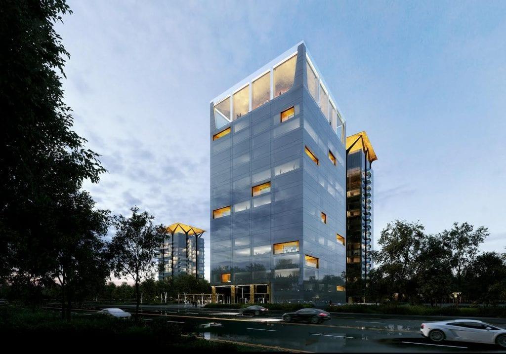 one tower one united properties 1024x717 - Topul proiectelor de birouri dezvoltate în 2019