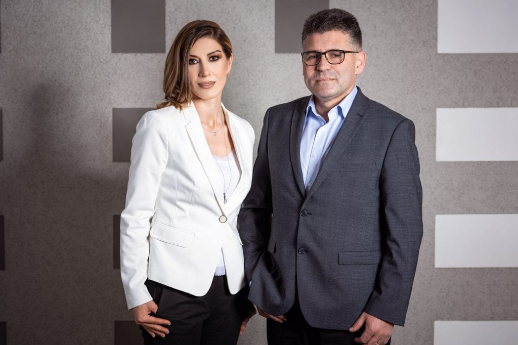 Roxana Ghioca  împreună cu Laurențiu Istrate