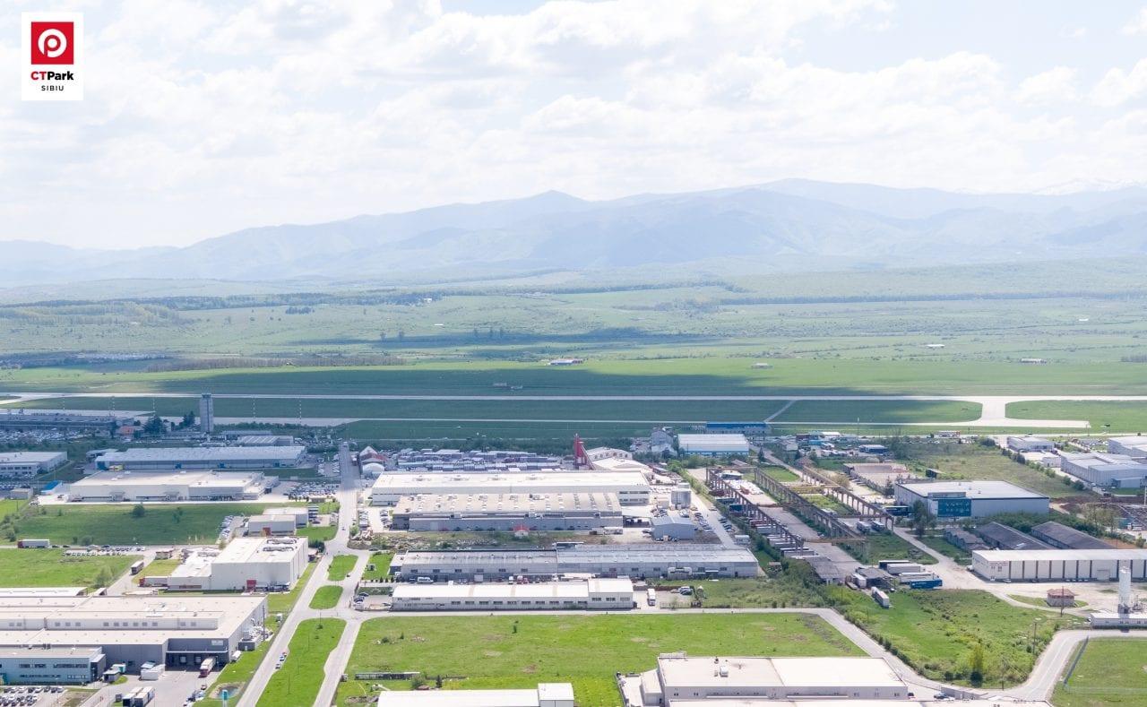 Foto CTPark SIbiu I - CTP continuă investițiile în spații logistice la Sibiu