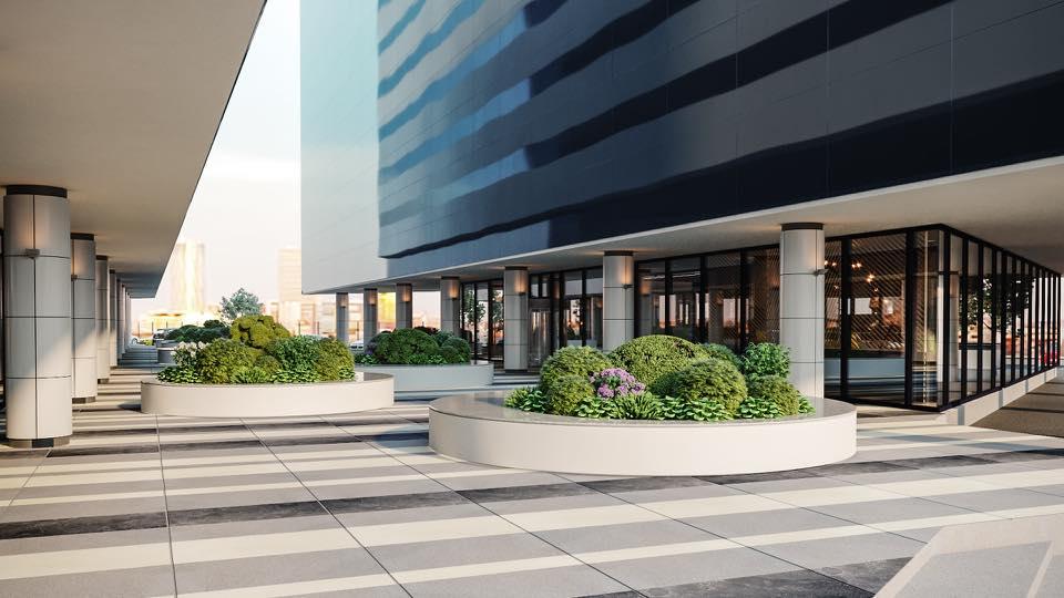 One North Gate curte interioara - Investiție de 1 milion de euro la One North Gate