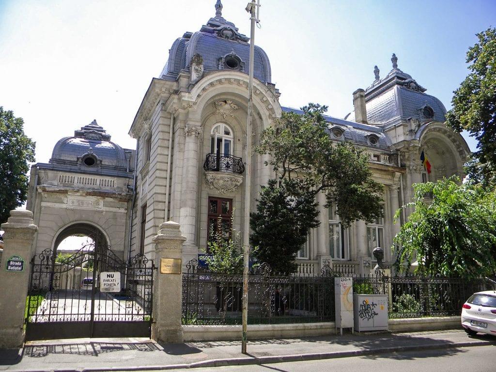 Palatul H. Sprayer sursa monumenteistorice.ro  1024x768 - Oameni care au construit Bucureștiul:  Louis Pierre Blanc
