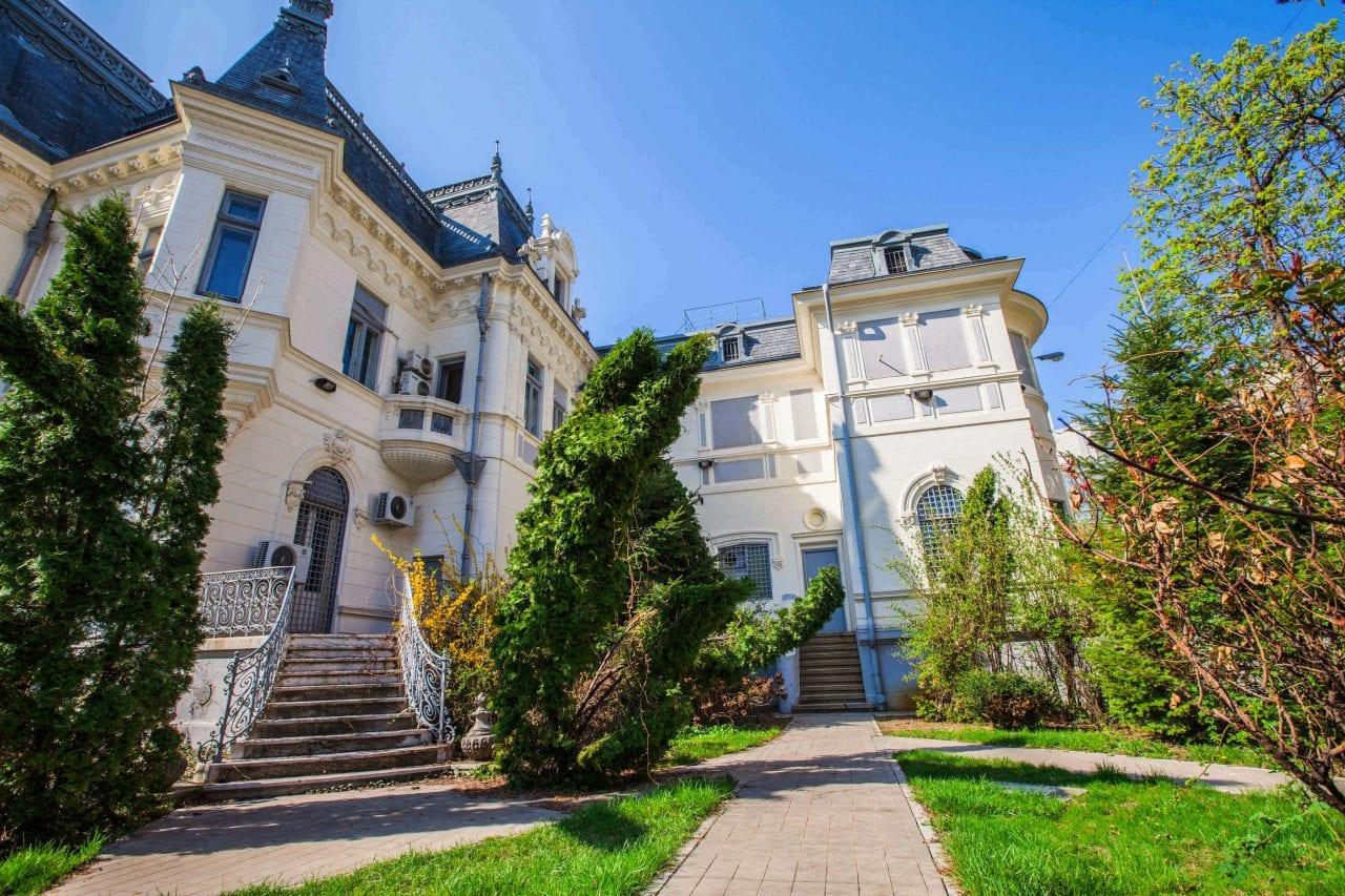 Palatul Maurice Blanc sursa artmarkhistoricalestate.ro  - Oameni care au construit Bucureștiul:  Louis Pierre Blanc