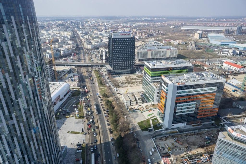Pipera sursa fotografieaeriana.eu  1024x683 - Analiză Real Estate Magazine: Zona de nord, vedeta lansărilor de noi proiecte rezidențiale