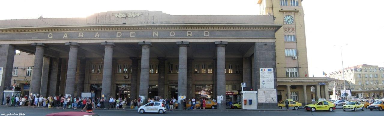 Gara de Nord Bucuresti   panoramic  b - Gara de Nord intră în reabilitare înainte de Euro 2020
