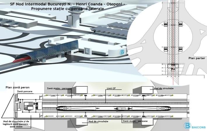 cfr otopeni - Trenul spre Aeroportul Otopeni, gata într-un an, spune CFR