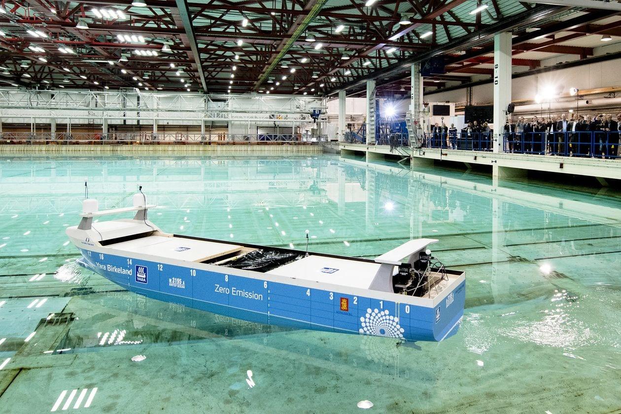 vapor autonom - Viitorul transportului maritim de mărfuri – nave fără echipaj