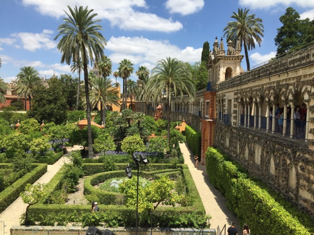 """IMG 2918 copy 1024x768 - Palatul Alcázar din Sevilla, vedeta din """"Game of Thrones"""" și filmul """"Lawrence al Arabiei"""""""